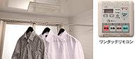 雨の日もお洗濯物が乾かせて便利。浴室の防カビ対策にも役に立ちます。