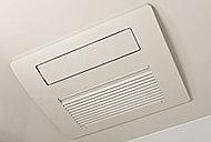 除湿・防カビ対策に効果的な浴室乾燥機。雨の日の洗濯物の乾燥や、冬場の予備暖房にも便利です。