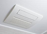 雨の日でも洗濯物を乾かせる乾燥機能や、快適な入浴のための予備暖房・涼風機能など、多機能な浴室暖房乾燥機です。