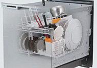 スマートカゴのスリムデザインでもたっぷり洗えるビルトイン型の食洗機です。