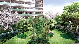 集い、憩い、華やぐ緑の庭が、暮らしのシーンを紡ぎます。