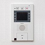 来訪者を画像と音声で確認できる録音機能も付いたハンズフリータイプを採用しました。