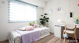 静けさとプライベートへの配慮や、充実の収納を設けるなど、機能性を備え、快適な空間を演出しています。
