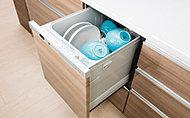 洗浄から乾燥まで、大きな操作ボタンでワンアクション。