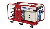 1日最大15トン(約4,800人分)の非常用飲料水を生成するウェルアップを設置。