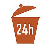 ディスポーザシステムを標準装備したことで、敷地内のゴミ置場が24時間ゴミ出し可能になりました。
