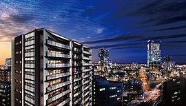 ※眺望写真は現地15階相当から撮影(平成29年12月)した写真にCG加工しており、実際とは異なります。