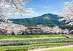 賀茂川から東山方向