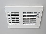 換気・乾燥で浴室内のカビ発生を抑え、入浴前には暖房、送風と切り替える事ができ、雨の日にも安心です。