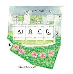敷地配置イメージ図