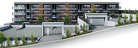 一邸ごとの独立性と邸宅性が高次元で調和した低層レジデンス。