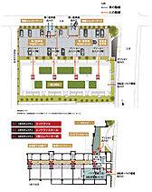 ※各階数については広告表現上の階数(5階建)を表現していますが、建築確認申請上の階数は、地上3階地下2階となります。