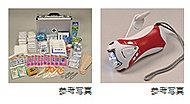 初期共助に使用する小型拡声器、救助用工具セット、救助用ロープ、スコップ、 防塵マスクなどを備えています。