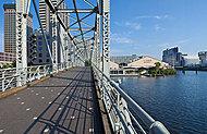 ふれあい橋 約690m(徒歩9分)