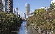 目黒川 約160m(徒歩2分)