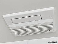 乾燥機能で雨の日でも洗濯物を乾かすことができ、換気によりカビの発生も抑制できる大多喜ガスのTES式浴室暖房乾燥機を採用しました。
