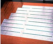 リビング・ダイニングには、東彩ガスのTES温水床暖房を採用。※参考写真