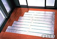 リビング・ダイニングには東京ガスのTES温水床暖房を採用。温水を利用して足元から心地よく室内を暖め『頭寒足熱』を実現する暖房システムです。