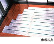 リビング・ダイニングには、東彩ガスのTES温水床暖房を採用。温水を利用して足元から心地よく室内を暖め、理想的といわれる『頭寒足熱』を実現する暖房システムです。