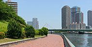 隅田川テラス 約120m(徒歩2分)
