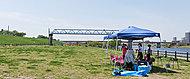 荒川岩淵関緑地バーベキュー場 約1,200m(徒歩15分)