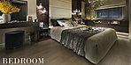ご夫婦やお一人のかけがえのない大切な時間を育むプライベートスペースをプランニング。豪華さや華美な装飾を誇るのではなく住まう人の感性で仕立てられる洗練された空間として、独立性や機能性を高めている。