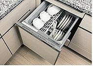 節水効果を高める「食器洗浄乾燥機」
