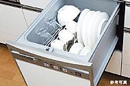 衛生的で節水効果が期待でき、家事効率も向上。時間にゆとりをもたらします。