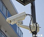 共用スペースに侵入抑制効果等を高めるための200万画素高画質防犯カメラ8台(エレベータ内を除く)を設置しています。