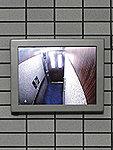 防犯カメラモニター設置例(参考写真)※モニター画像の写真は、はめこみ合成です。
