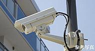 共用部に防犯カメラ