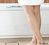 浴槽のまたぎが低く、お子様からお年寄りまで入浴しやすいユニットバスを採用。