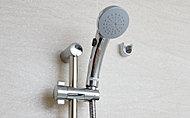 シャワーヘッドに設置されているワンストップスイッチでシャワーのON-OFF操作ができる節湯タイプです。