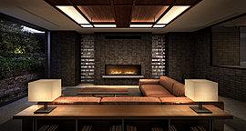 暖炉が象徴的なラウンジは住まう方々のリビングのような存在。時の流れを刻々と映し出すステンドグラスに、革張りのソファ、柔らかなカーペット。丹念に選び抜かれ、設えられた空間には、豊かな寛ぎの時が流れている。