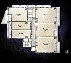 ディンクスのご家族でも帰宅時間が異なるケースがほとんど、女性の方が先に仕事を終えても安心して帰宅できます。外部からは見えない内廊下のプライバシー性と、安心できるコミュニティ性を両立させたフロア設計です。