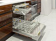 プレミアスイートには、ドイツ・ミーレ社製の食器洗い乾燥機を採用。