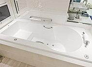 ラグジュアリーな浴槽ブランド、JAXON製。