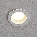 全てのダウンライト照明、下足入れ、キッチンの棚下灯には寿命が長く、消費電力が少ないLED照明を採用しています。