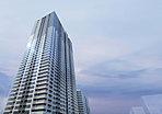 都心の新しい生き方を包み込む。1,247戸の超高層タワーレジデンス、誕生。壁面を文節して周辺地域への圧迫感を軽減しながら、三層構成で緩やかに大地から空へと溶け込むような美しいデザインを纏い、この地の新たなランドマークとして誕生します。