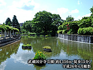 武蔵国分寺公園 ※1 約1,150m(徒歩15分)(平成26年4月撮影)