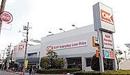 オーケー仲六郷店 約490m(徒歩7分)