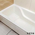 人間工学、入浴実験データをもとに、バスタイムをゆったりと楽しめる浴槽。