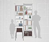 家族構成やライフスタイルに合わせて選べる「パーソナルクローゼット」(イメージイラスト)