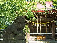 八幡神社 約200m(徒歩3分)