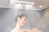 低温・高湿度で心も体もリラックス。洗濯物の乾燥にもお使いいただけます。