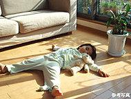 室内全体と身体が芯から優しく温まる床暖房をリビング・ダイニングに設置。