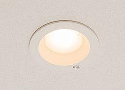 住戸内に設置している照明には、長寿命で耐久性も高く、環境にも優しいLED照明を採用しています。