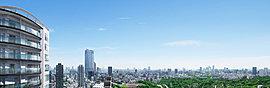 ※現地より25階相当の高さからの眺望写真(平成29年5月撮影)を合成したもので実際とは異なります。※眺望、景観は各階・各住戸により異なり、今後周辺環境の変化に伴い将来にわたって保証されるものではありません。