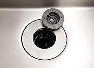 調理中に出た生ごみを粉砕・処理することができるディスポーザーを設置。生ゴミを減らすことができ、キッチンを清潔に保てます。※処理できない生ゴミ、使用できない洗剤等があります。
