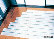 足元から室内全体を暖めるTES式温水床暖房。ハウスダストの巻き上げや火傷などの心配がなく、清潔で快適な室内環境を実現します。